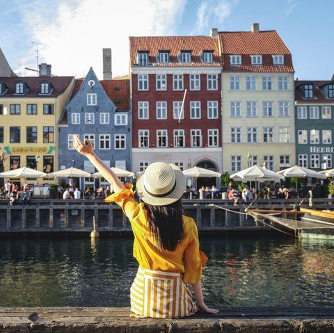 Girl in Copenhagen