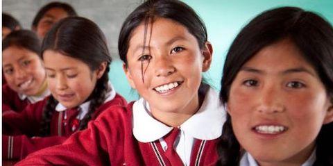 Youth, Smile, Uniform, Child, Student, School uniform, Team,