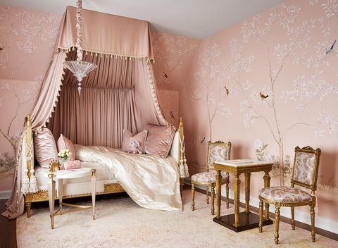 girl's bedroom by joey leicht design for 2020 lake forest showhouse