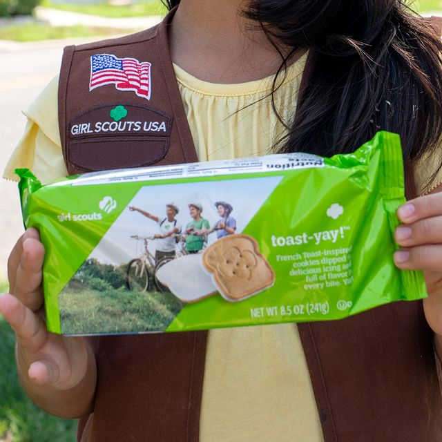 girl scouts toast yay french toast inspired cookies