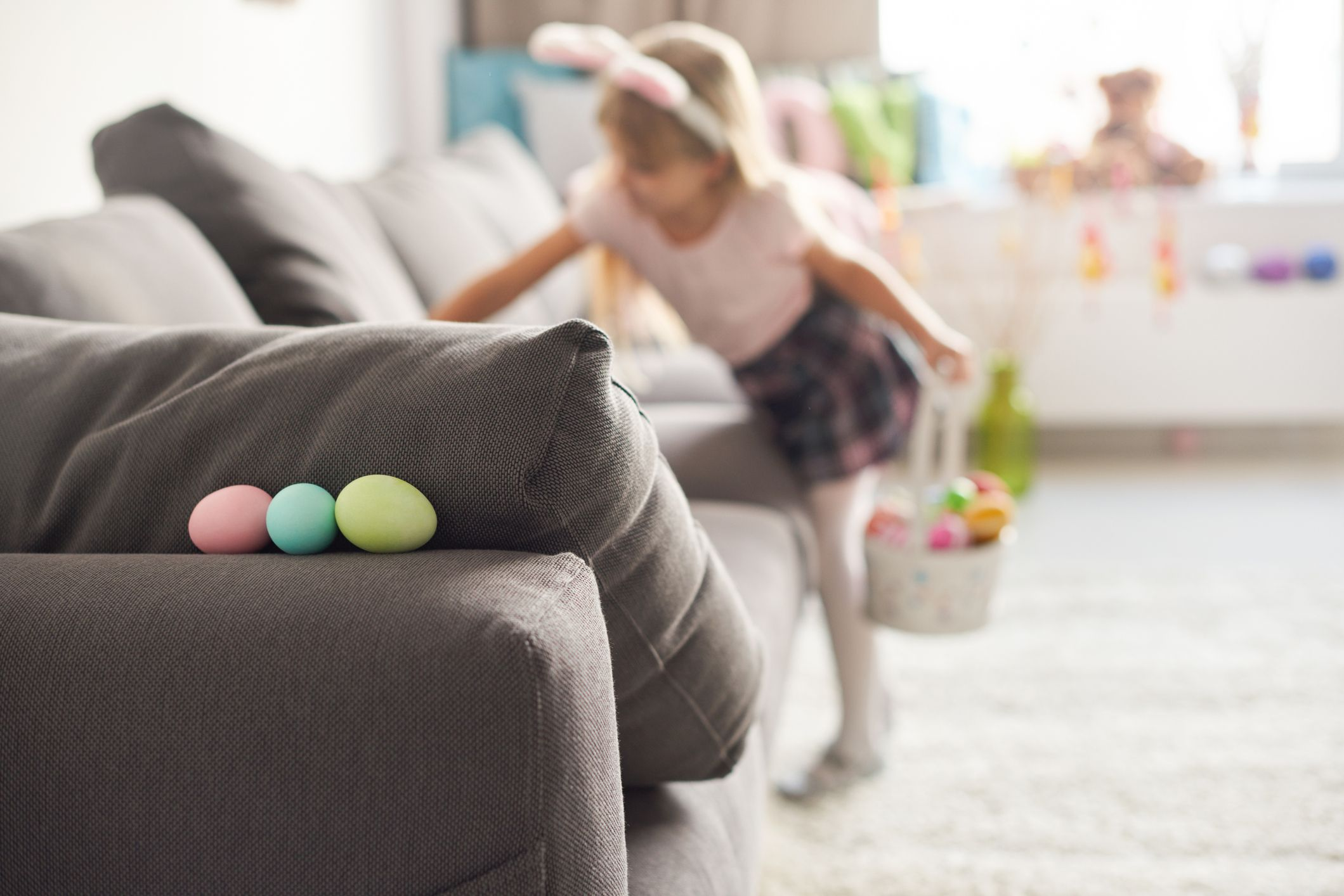 Indoor Easter Egg Hunt Ideas - How to Have an Egg Hunt Inside the House