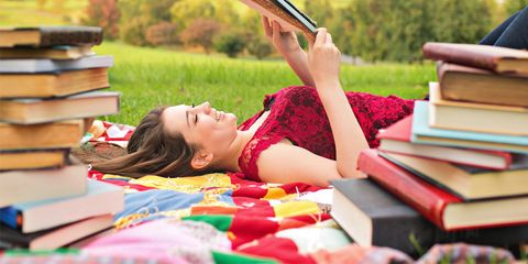 girl summer reading