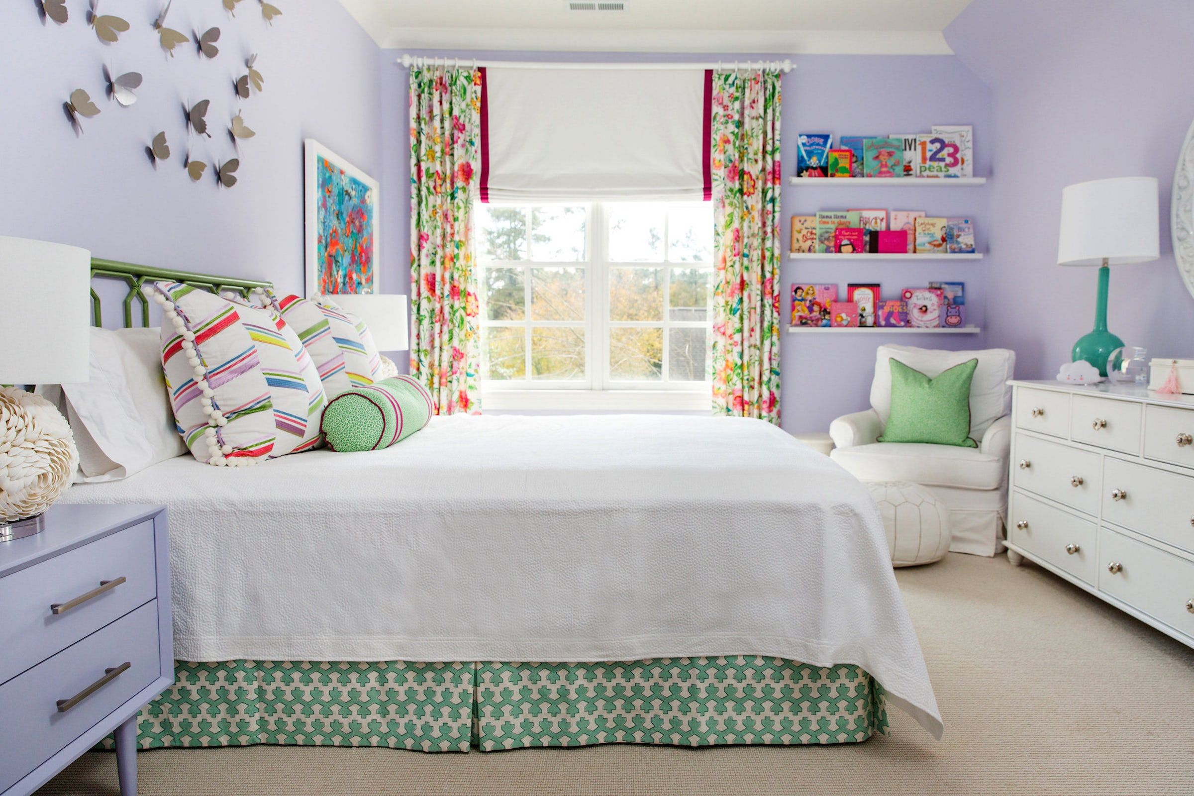 15 creative girls room ideas how to decorate a girl s bedroom rh elledecor com