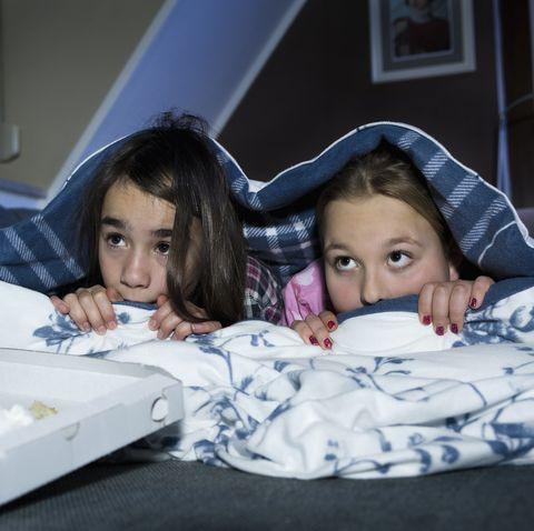 Fun Things to Do at a Sleepover - Scary Movie