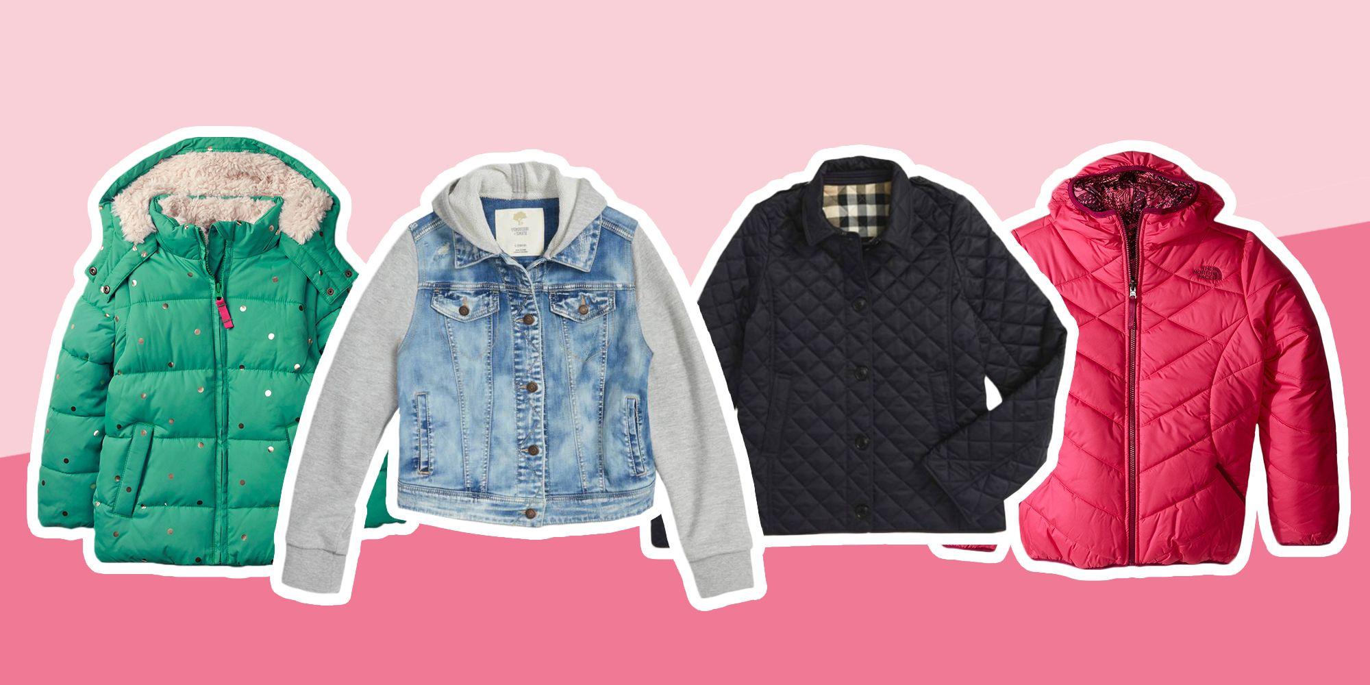 35e4ac4a5 8 Best Girls Jackets for Fall 2018 - Cute Coats for Girls