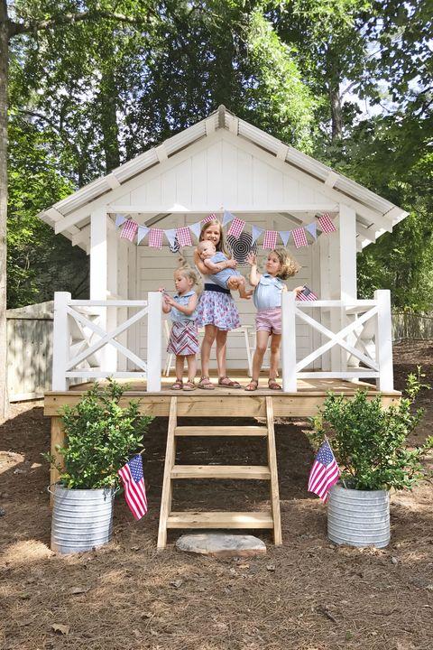 22 Kids Playhouse Ideas Outdoor, Girls Outdoor Playhouse