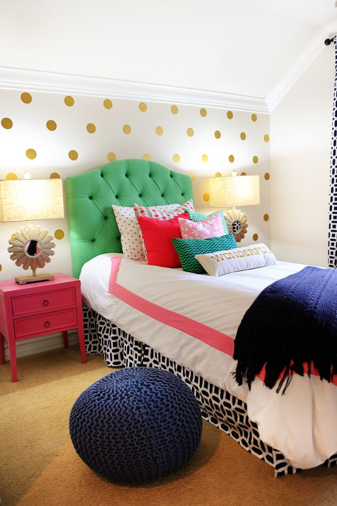 Tammy Mitchell Pink Peppermint Design Colorful Room