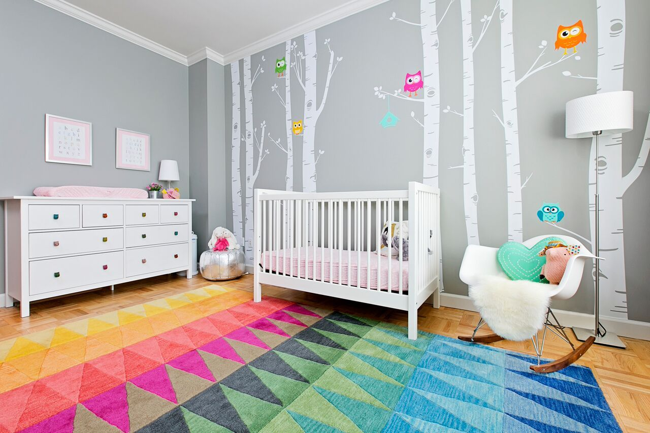 YDC Designs Colorful Room