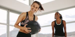 medicine ball slam - women's health uk