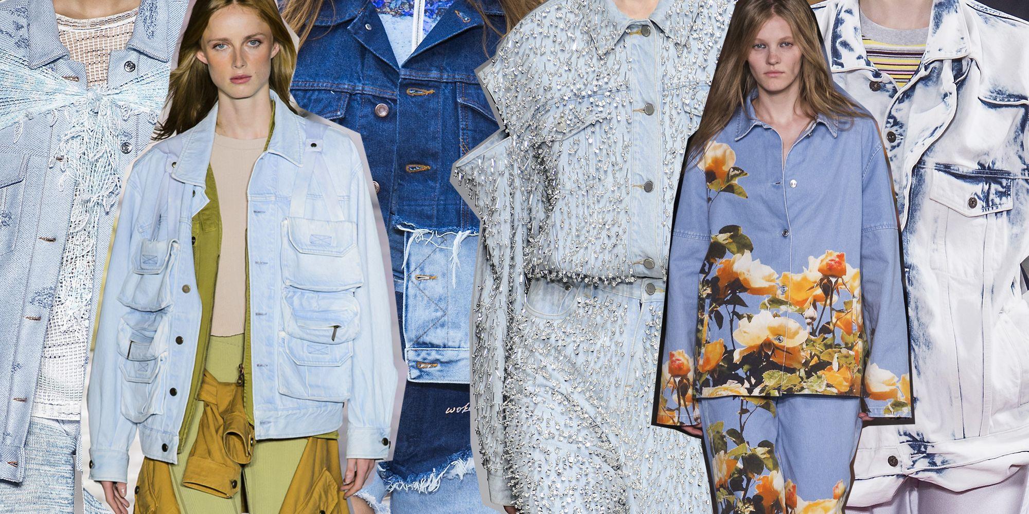 Giubbotto jeans moda 2019: i modelli della primavera estate