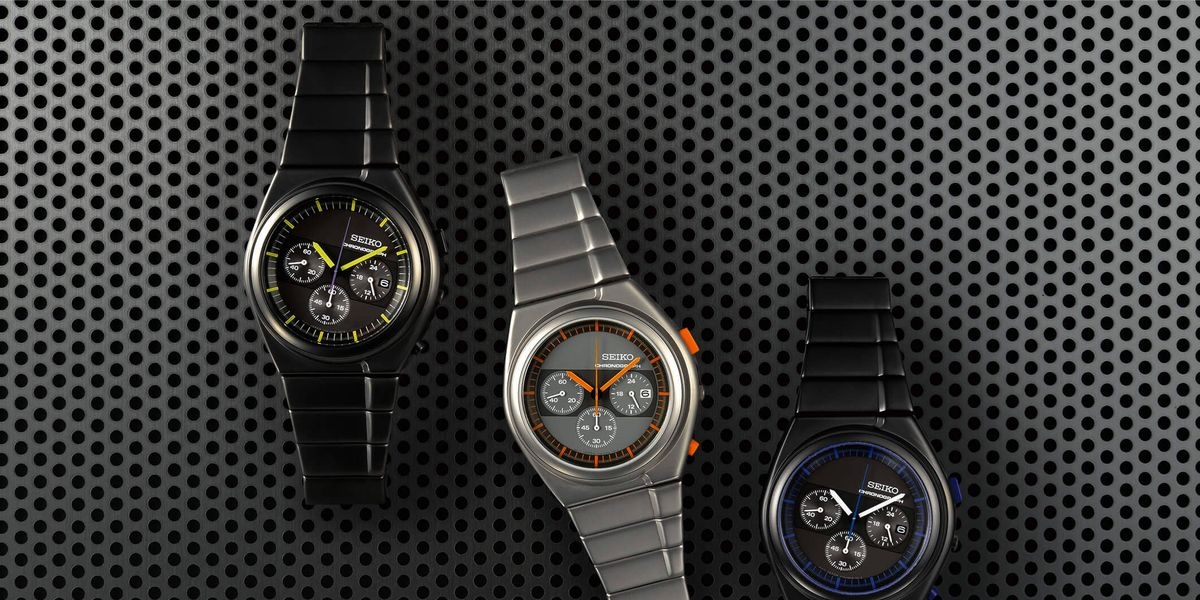 This Italian Car Designer Is Responsible for Some of the Funkiest Seiko Watches Ever Made