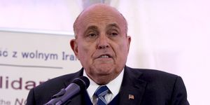 Rudy Giuliani Press Conference On Iran