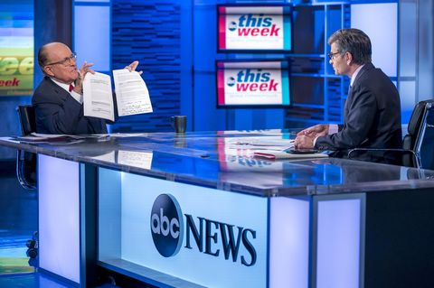 """ABC's """"This Week with George Stephanopoulos"""" - 2019"""