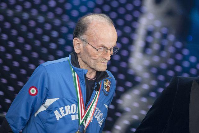 el atleta italiano giuseppe ottaviani en el festival de san remo 2016