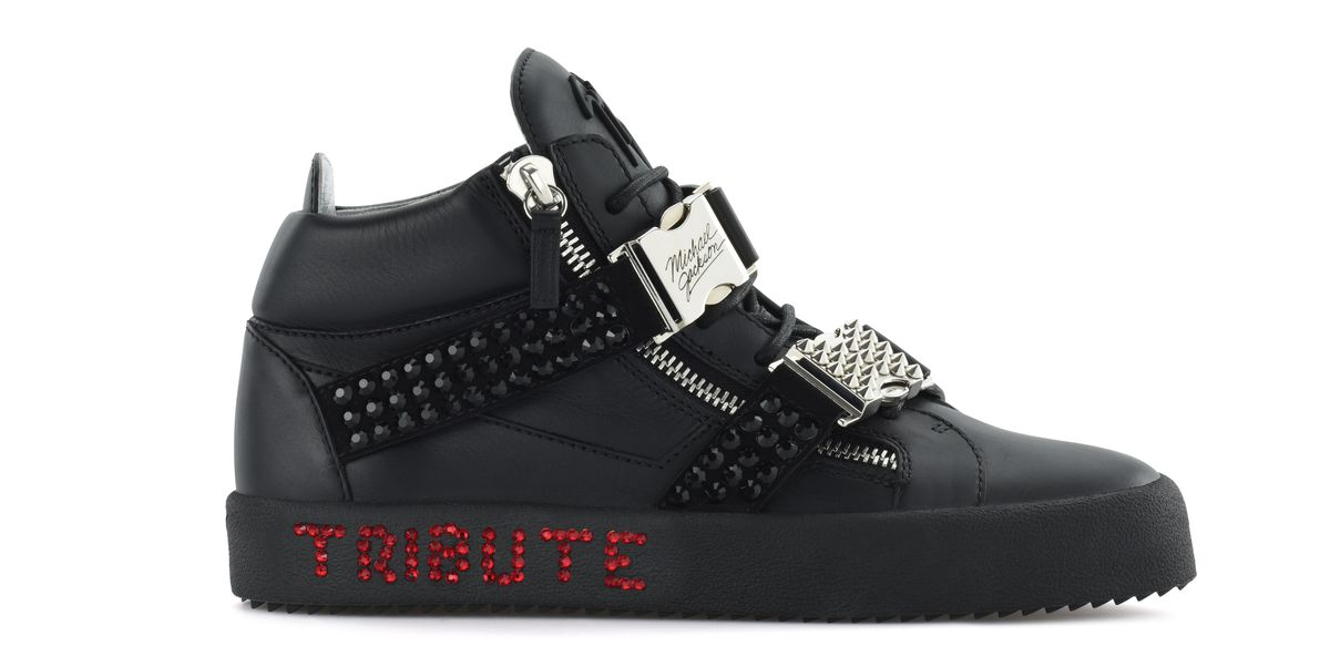 27e6a90214293 Giuseppe Zanotti Michael Jackson Tribute Sneaker - Giuseppe Zanotti Reveals  Tribute Sneaker to Honor Michael Jackson