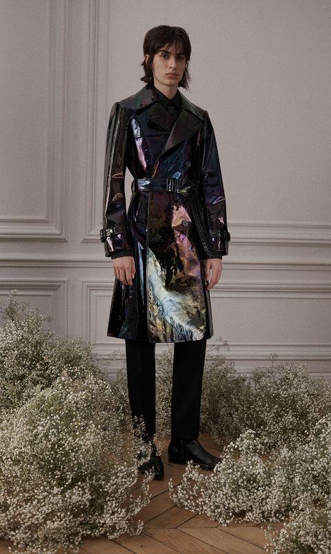 Clothing, Leather, Jacket, Leather jacket, Fashion, Outerwear, Coat, Footwear, Trench coat, Textile,