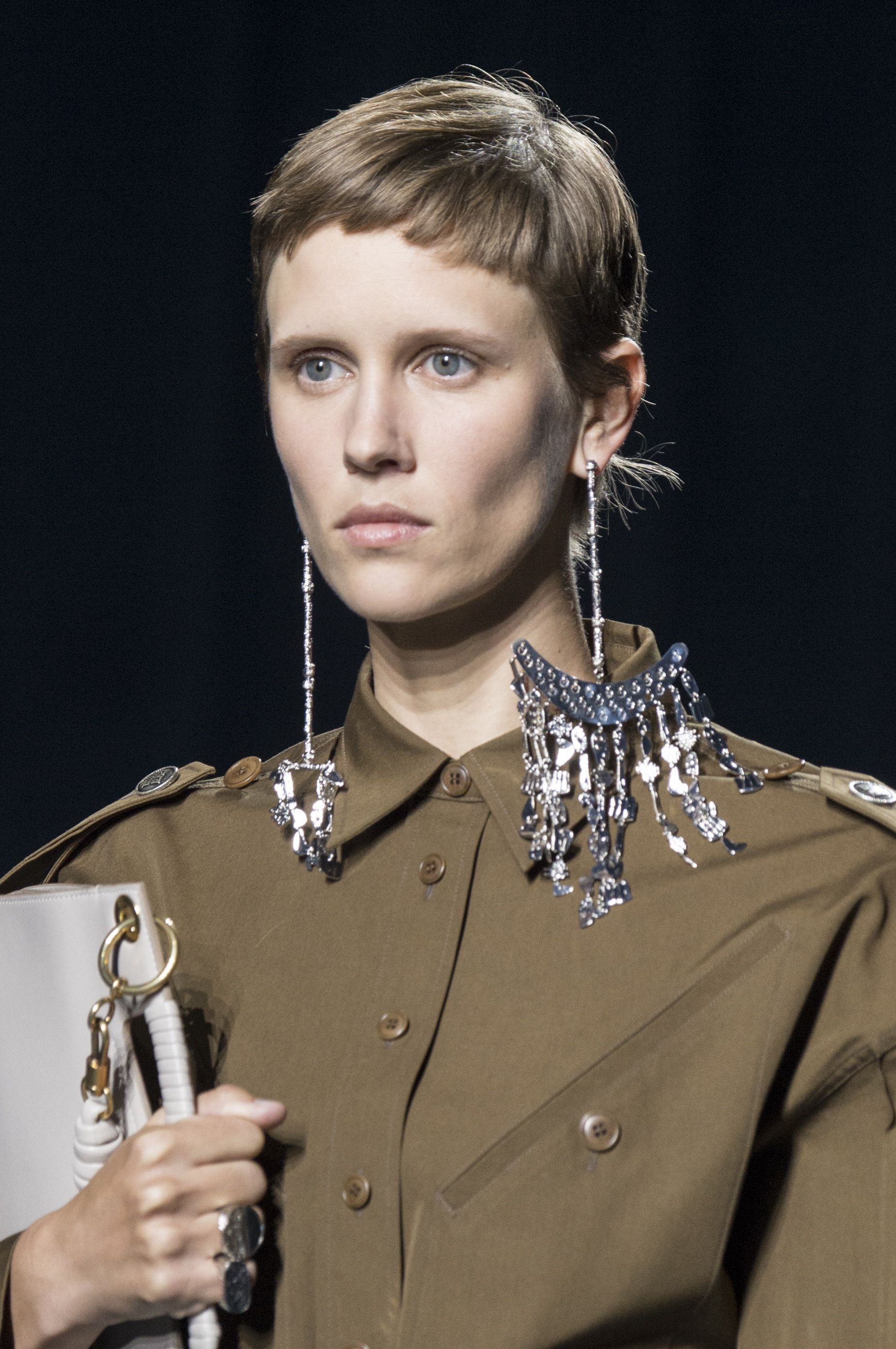 givenchy earrings SS19 PFW