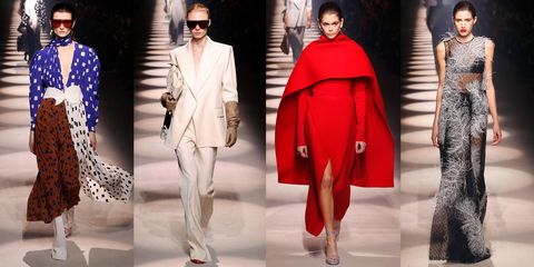 Fashion model, Clothing, Fashion, Red, Outerwear, Street fashion, Coat, Overcoat, Haute couture, Winter,