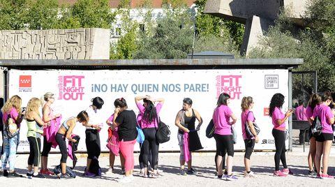 Pink, Event, Pedestrian, Leisure, Magenta, Tourism, Advertising, Recreation, Plant, Street,