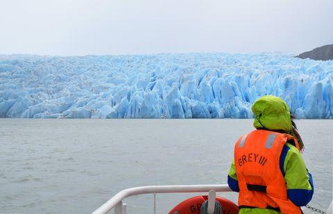 Glaciar Grey Torres del Paine Chile