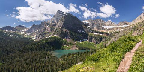glacier national park   grinnell lake trail