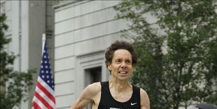 Malcolm Gladwell at the 2014 Fifth Avenue Mile