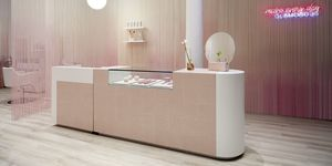 Hair Salon Design,Glam Seamless, Sergio Mannino Studio, Soho, New York