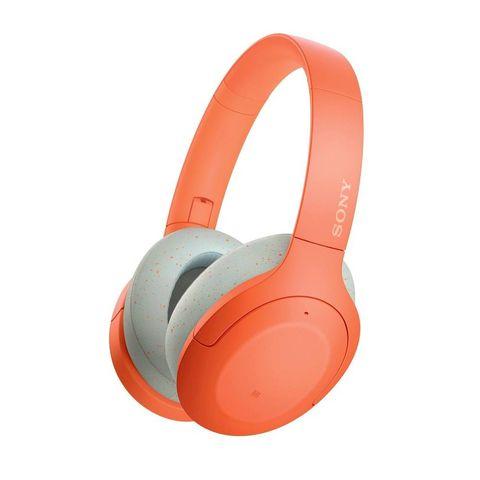 sony wh h910n   draadloze bluetooth over ear koptelefoon met noise cancelling   oranje