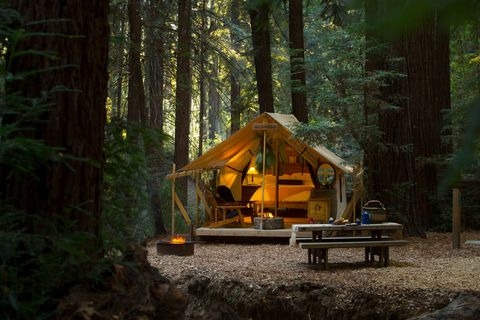28 Best Glamping Destinations In The U S Luxury Camping