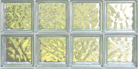transparent glass block