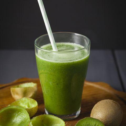 recette de smoothie vert végétalien