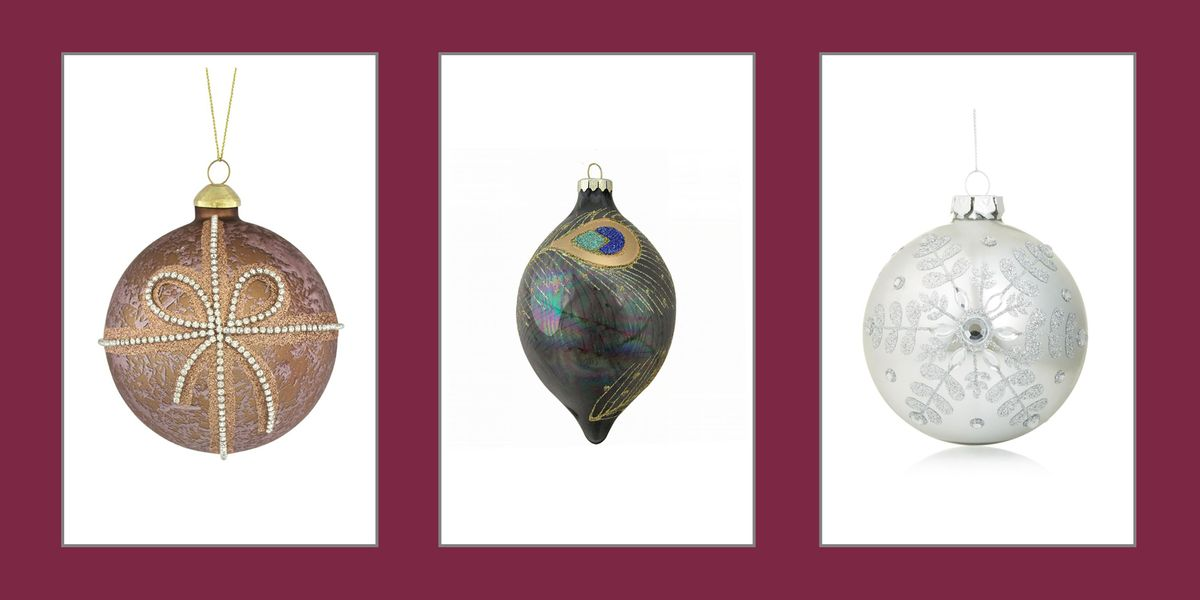 Best Glass Christmas Tree Ornaments Stylish Glass Ornaments
