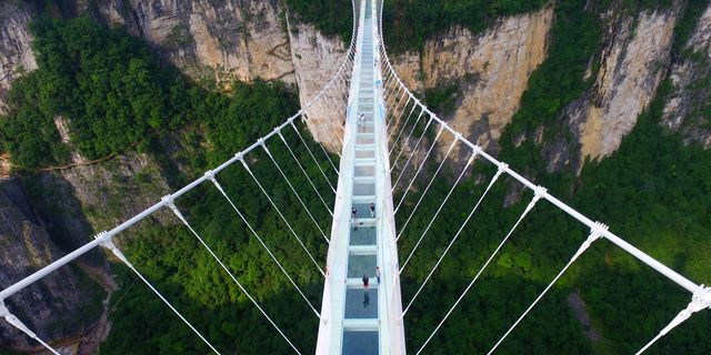 Don't Look Down! These Are the World's Scariest Bridges