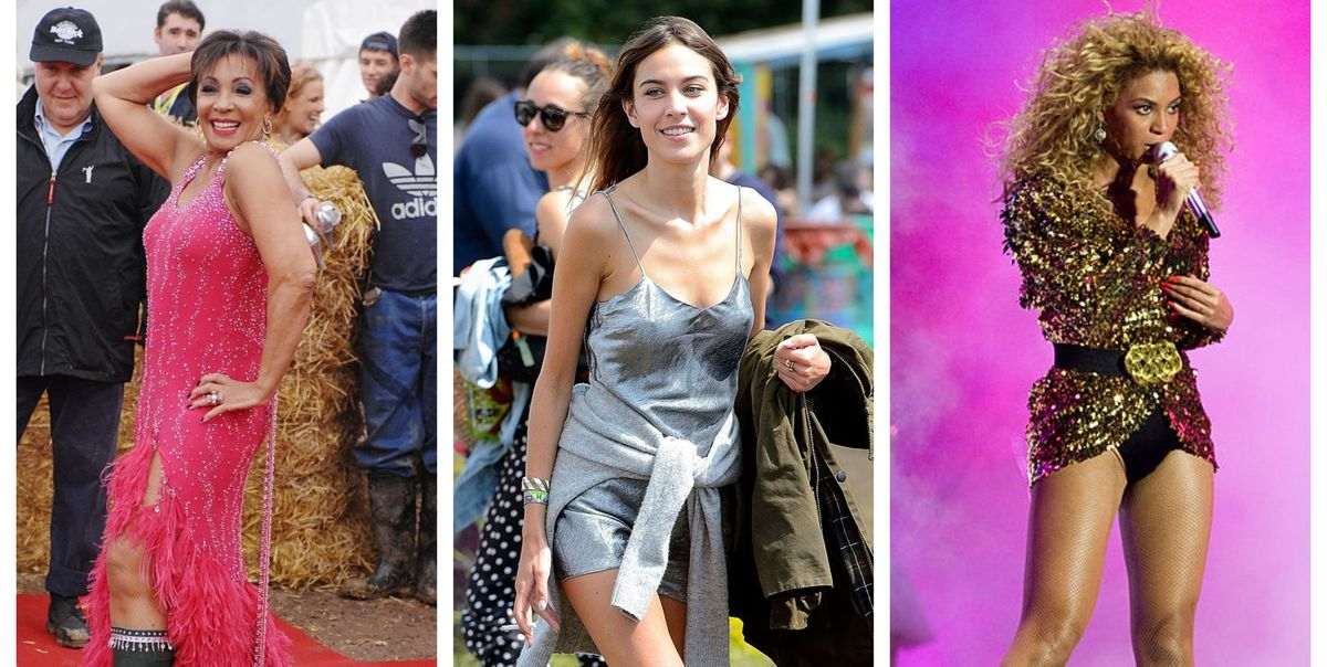 13 of the most iconic Glastonbury looks of all time