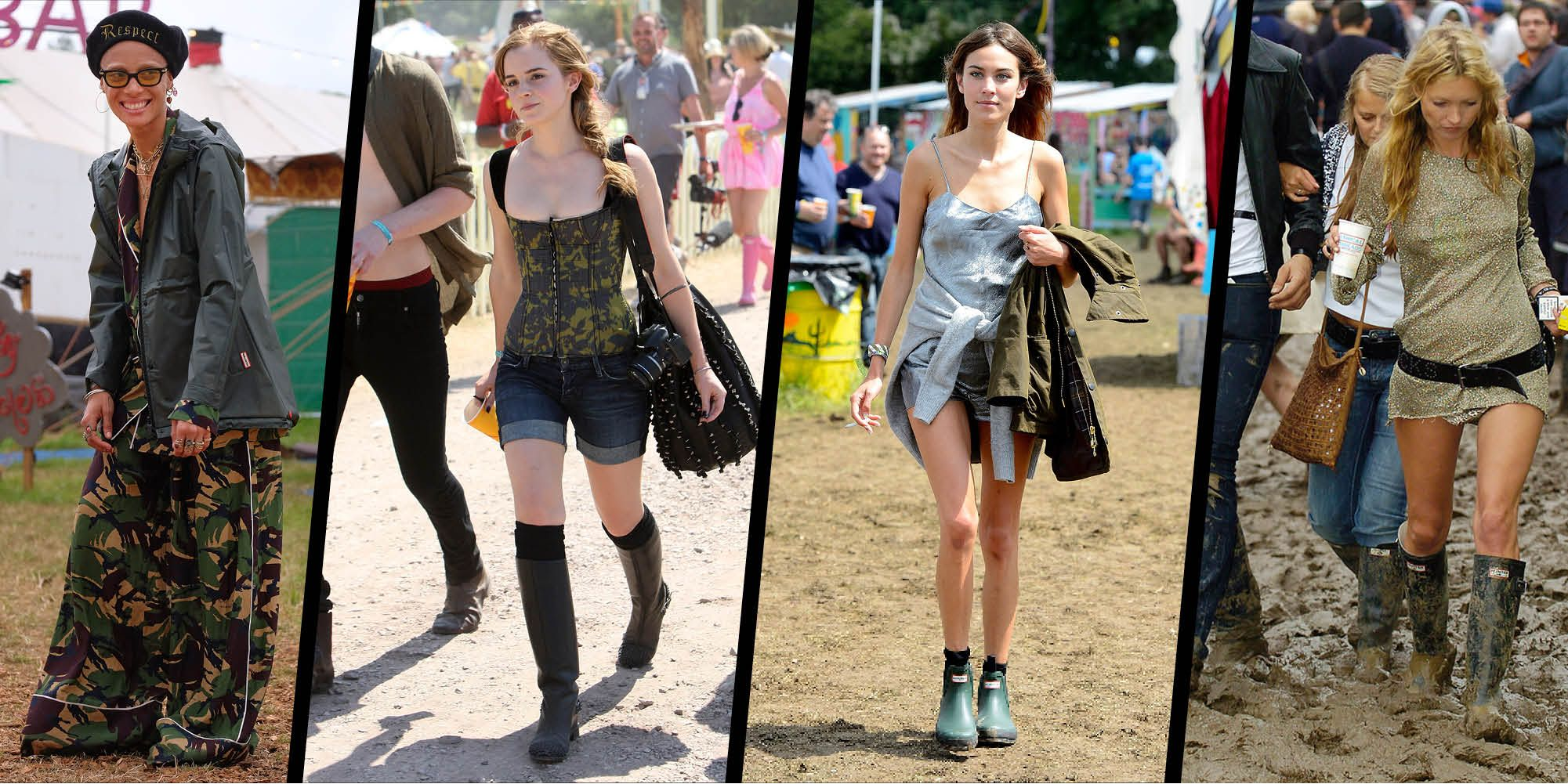 10 of the best Glastonbury looks ever