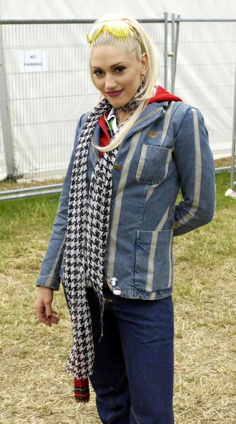 Glastonbury celebrity fashion