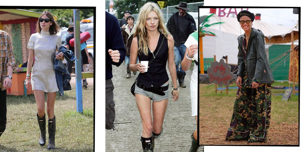The Coolest Glastonbury Outfits From The Last 20 Years, Because We Miss You Worthy Farm
