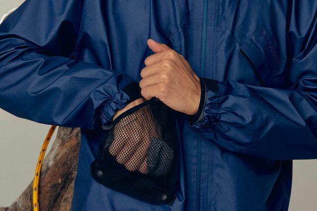 goldwin element jacket in dark blue