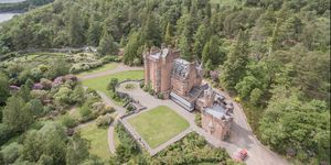 Glenborrodale Castle, Scotland for sale with two islands