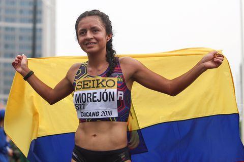 Glenda Morejón triunfó en el GP Cantones de 20km marcha de La Coruña