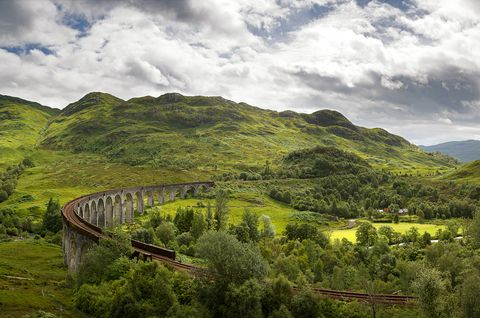 Steam train rides: Glenfinnan Viaduct