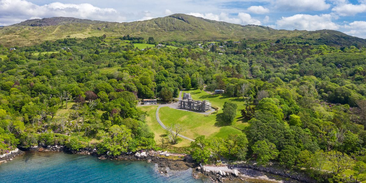 This historic castle in need of some TLC is the perfect renovation project