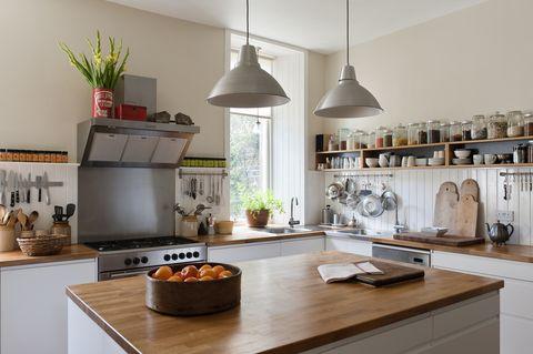 types of countertop wood countertop