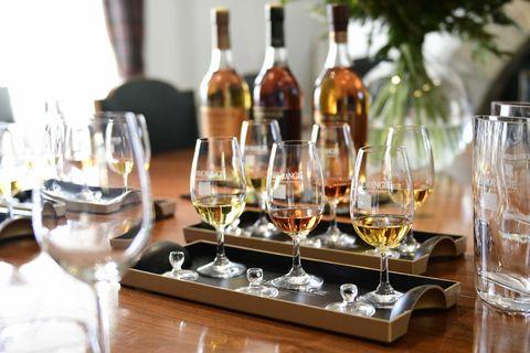 Drink, Alcohol, Distilled beverage, Alcoholic beverage, Barware, Wine, Wine bottle, Wine glass, Bottle, Glass bottle,