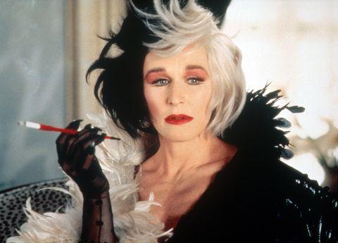 Glenn Close as Cruella De Vil in 101 Dalmatians