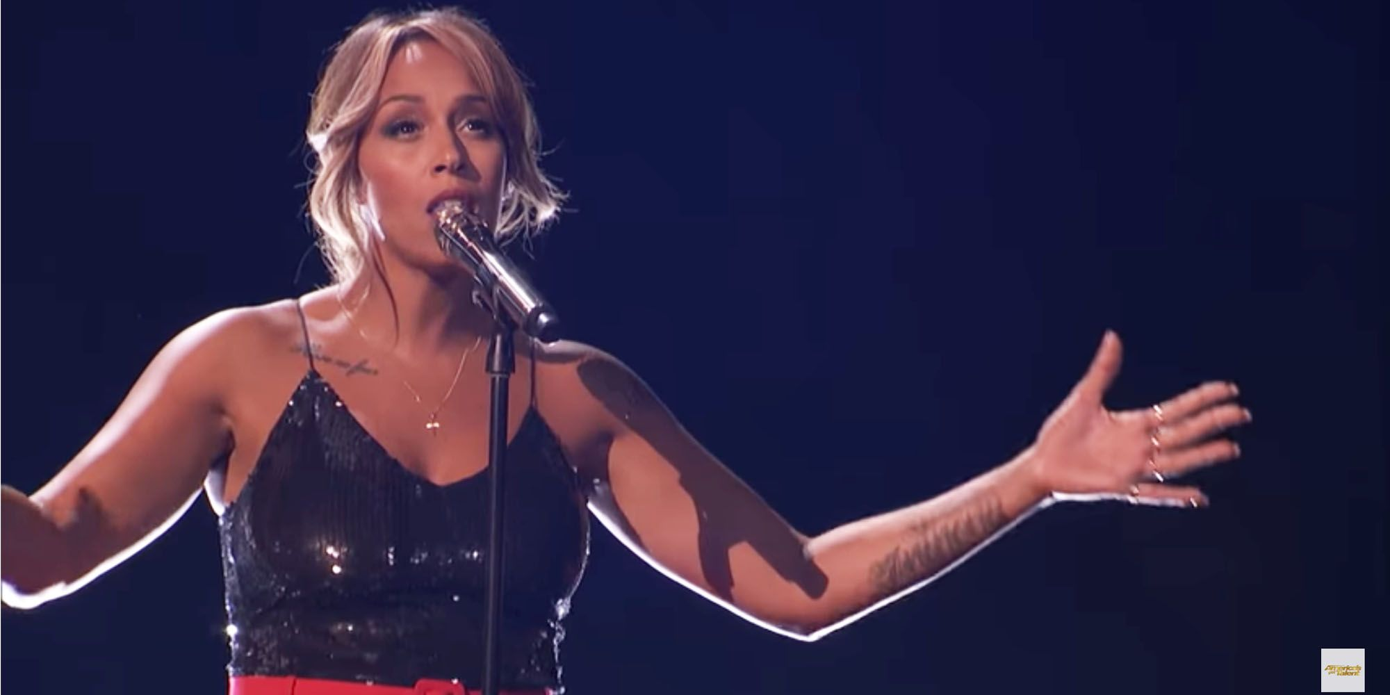 Glennis Grace halve finale America's Got Talent
