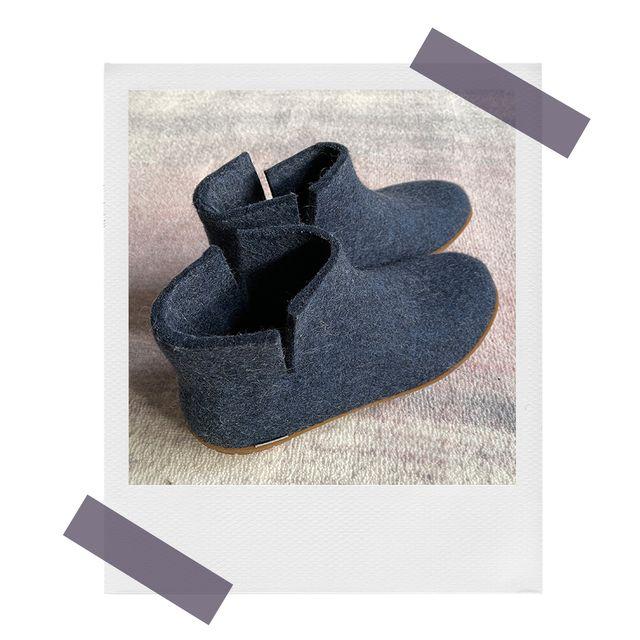 glerup felt slippers