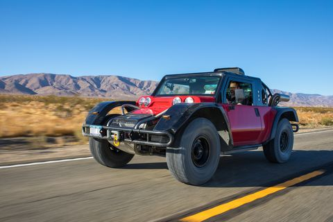 Glickenhaus Boot Makes Every Day the Baja 1000