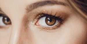 glitter, make-up, kerst, glittermake-up, kerstmake-up, make-up, feestlook,