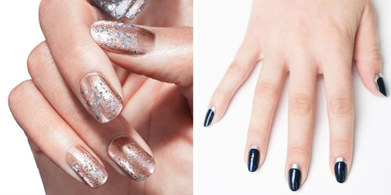 Shine bright like a diamond. - 20+ Glitter Nail Art Ideas - Tutorials For Glitter Nail Designs